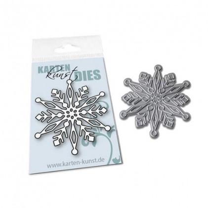Karten-Kunst Stanzschablone - Mini Snowflake 2