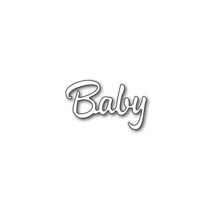 Karten-Kunst Stanzschablone - Baby