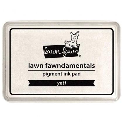 Lawn Fawn Pigment Ink Pad - Yeti Weiß