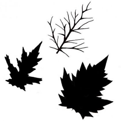 Lavinia Stamps - Autum Leaf