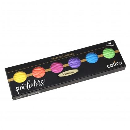 "Finetec coliro Pearl Colors Farbset ""Vibrant"""