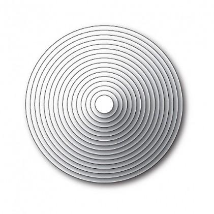 Memory Box Open Studio Stanzschablone - Circle Basics Set