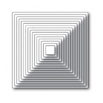 Memory Box Open Studio Stanzschablone - Square Basics Set