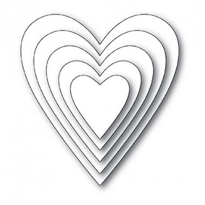 Memory Box Open Studio Stanzschablonen-Set - Have a Heart