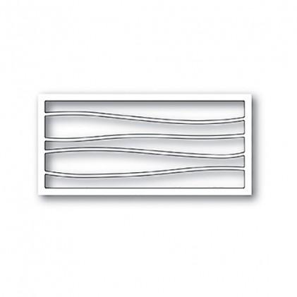 Memory Box Stanzschablone - Wave Ribbon Collage