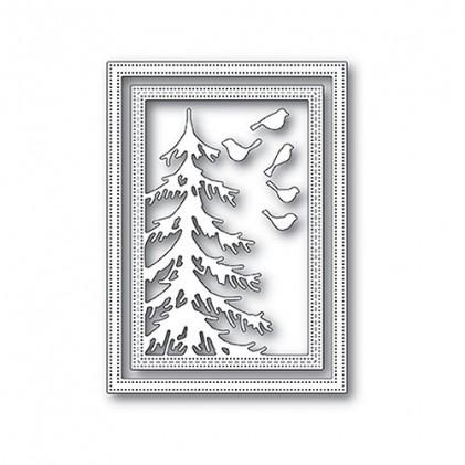 Memory Box Stanzschablone - Delicate Pine Frame