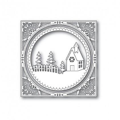 Memory Box Stanzschablone - Country Church Frame