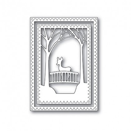 Memory Box Stanzschablone - Woodland Bridge Frame
