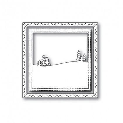 Memory Box Stanzschablone - Meadowtree Frame - 20% RABATT