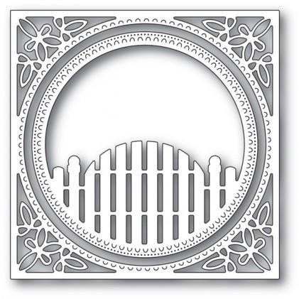 Memory Box Stanzschablone - Cottage Gate Frame - 30% RABATT