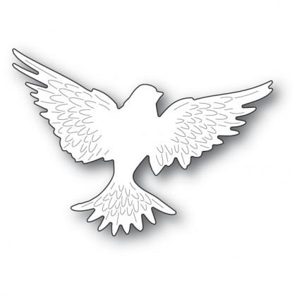 Memory Box Stanzschablone - Large Winged Dove - 25% RABATT