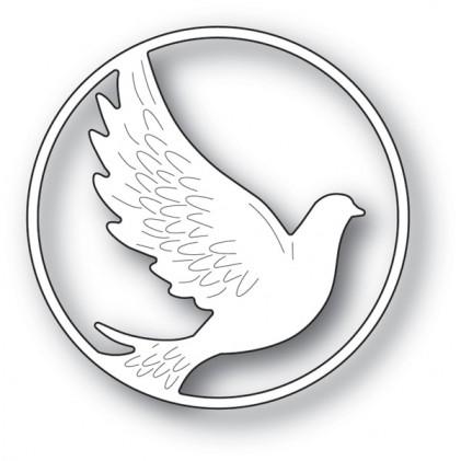 Memory Box Stanzschablone - Dove Circle - 20% RABATT