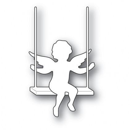 Memory Box Stanzschablone - Cupid with Swing