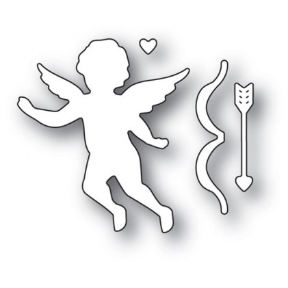 Memory Box Stanzschablone - Cupid with Bow - 35% RABATT