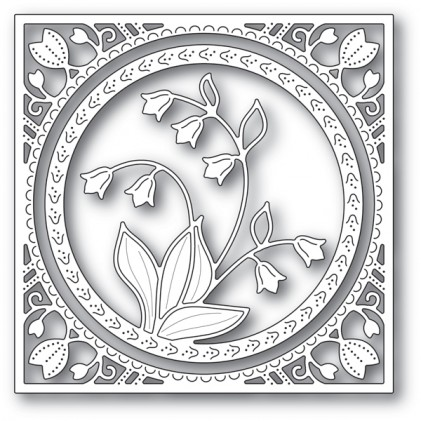 Memory Box Stanzschablone - Lily of the Valley Frame