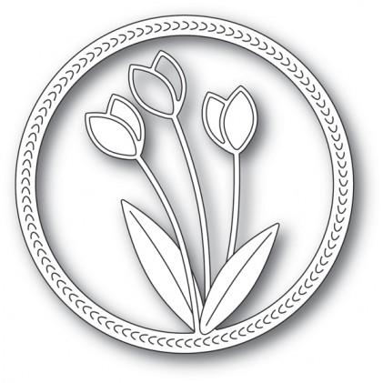 Memory Box Stanzschablone - Springtime Tulips