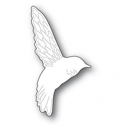 Memory Box Stanzschablone - Friendly Hummingbird
