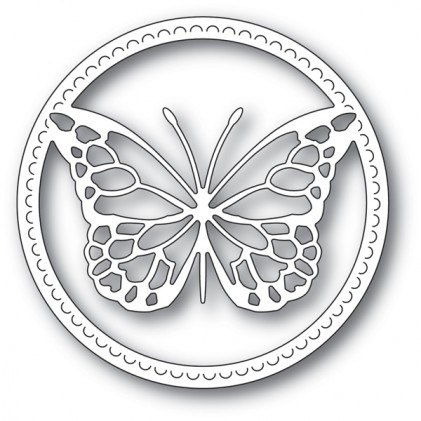 Memory Box Stanzschablone - Delicate Butterfly