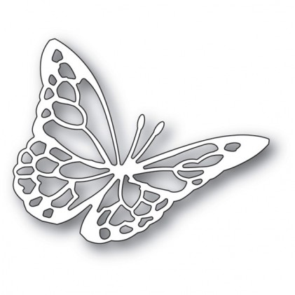Memory Box Stanzschablone - Floating Butterfly