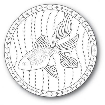 Memory Box Stanzschablone - Serene Goldfish
