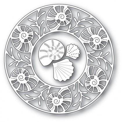 Memory Box Stanzschablone - Seashell Circle Frame