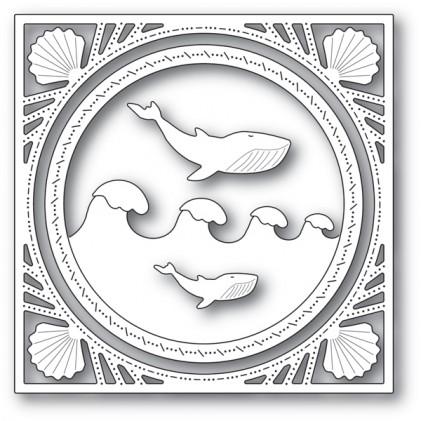 Memory Box Stanzschablone - Wonderful Whale Frame