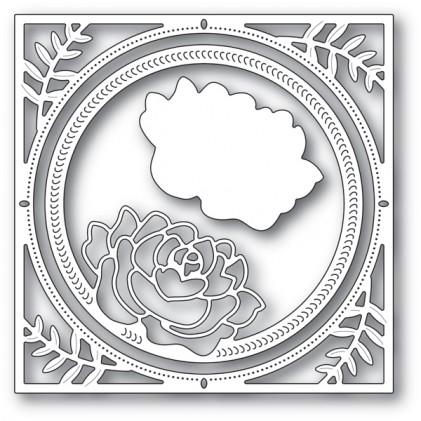 Memory Box Stanzschablone - Splendid Rose Frame