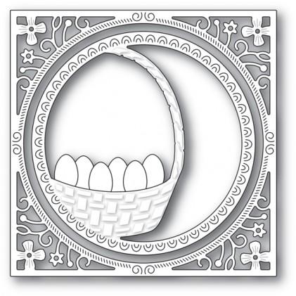 Memory Box Stanzschablone - Egg Basket Frame