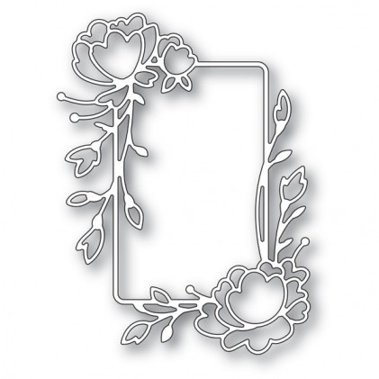 Memory Box Stanzschablone - Rose Flower Frame