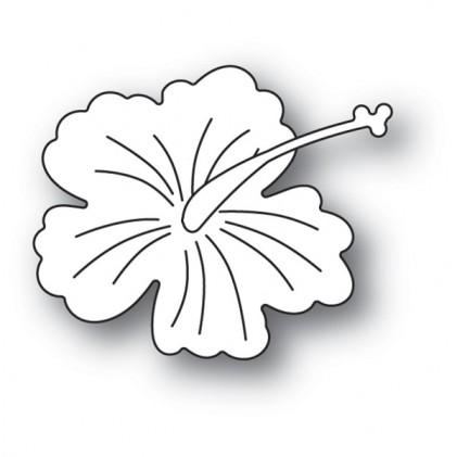 Memory Box Stanzschablone - Little Hibiscus Blossom