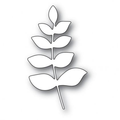 Memory Box Stanzschablone - Scribble Leafy Branch Background 6