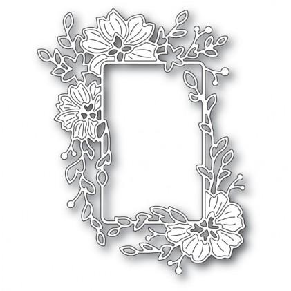 Memory Box Stanzschablone - Clarkia Flower Frame - 20% RABATT