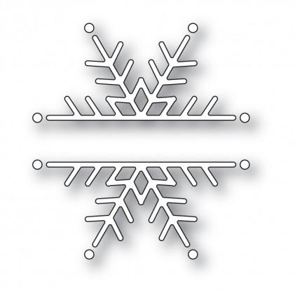 Memory Box Stanzschablone - Snowflake Marquee