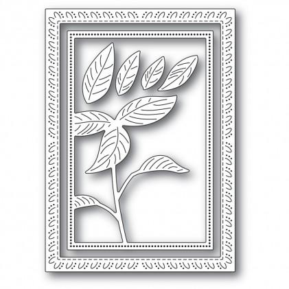 Memory Box Stanzschablone - Simple Poinsettia Frame - 20% RABATT