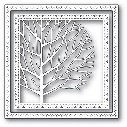 Memory Box Stanzschablone - Winter Tree Frame