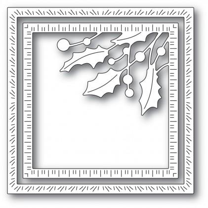 Memory Box Stanzschablone - Holly Jolly Corner Frame - 20% RABATT
