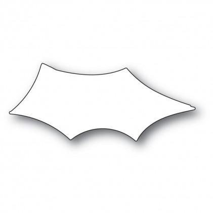 Memory Box Stanzschablone - Scribble Holly Leaf Background - 20% RABATT