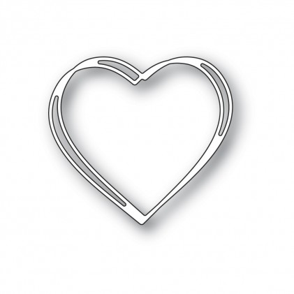 Memory Box Stanzschablone - Little Sketch Heart