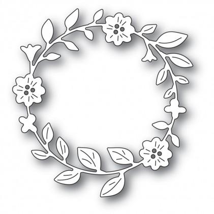Memory Box Stanzschablone - Bellfower Circle Wreath