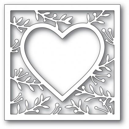 Memory Box Stanzschablone - Lavonia Heart Frame