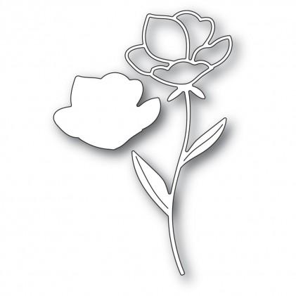 Memory Box Stanzschablone - Single Rose Stem