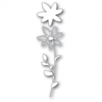 Memory Box Stanzschablone - Single Daisy Stem