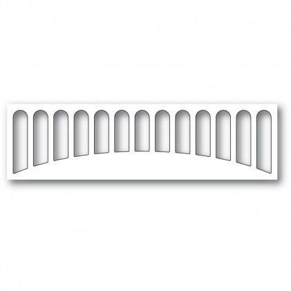Memory Box Stanzschablone - Cascadia Background Strip