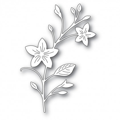 Memory Box Stanzschablone - Pretty Blossom Stem