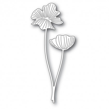 Memory Box Stanzschablone - Splendid Poppy Stems
