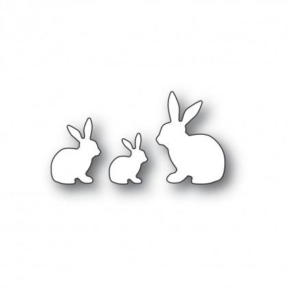 Memory Box Stanzschablone - Little Bunny Trio