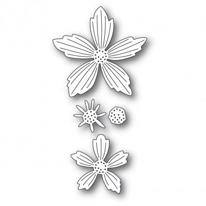 Memory Box Stanzschablone - Layered Fresh Flowers