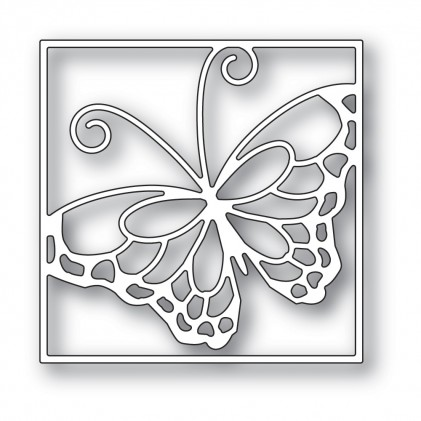 Memory Box Stanzschablone - Stained Glass Butterfly