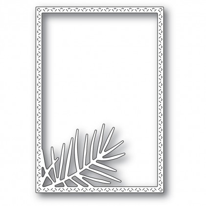 Memory Box Stanzschablone - Pointed Pine Needle Frame