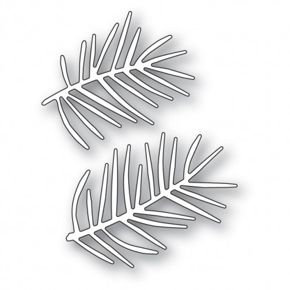 Memory Box Stanzschablone - Pointy Pine Needle Sprigs